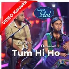 Tum Hi Ho - Live Perfomance - Mp3 + VIDEO Karaoke - Debanjana - Arijit Singh - Indian Idol Junior