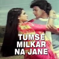 Tumse Mil Kar Na Jaane Kyun - Karaoke Mp3 - Shabbir Kumar - Lata Mangeshkar - Pyar Jhukta Nahi 1985
