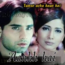 Aankh hai bhari bhari - Karaoke Mp3 - Kumar Sanu - Tumse Acha Kaun Hai