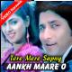 Aankh maare o ladka aankh mare - Mp3 + VIDEO Karaoke - Kumar Sanu - Tere Mere Sapne