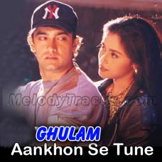 Aankhon se tune ye kya keh diya - Karaoke Mp3 - Kumar Sanu