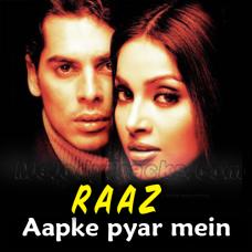 Aapke pyar mein hum savarne lage - Karaoke Mp3 - Kumar Sanu - Raaz