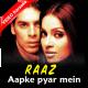 Aapke pyar mein hum savarne lage - Mp3 + VIDEO Karaoke - Kumar Sanu - Raaz