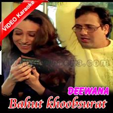 Bahut khoobsurat hai mera sanam - Mp3 + VIDEO Karaoke - Kumar Sanu - Shikari 2000