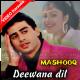 Deewana Dil Dhoonde Mashooq - Mp3 + VIDEO Karaoke - Mashooq - 1992 - Kumar Sanu