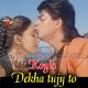 Dekha Tujhe To Jeene Lage Hum - Karaoke Mp3 - Koyla - 1997 - Kumar Sanu