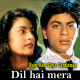 Dil Hai Mera Deewana - Karaoke Mp3 - Raju Ban Gaya Gentleman - 1992 - Kumar Sanu