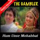Hum Unse Mohabbat Karke - Mp3 + VIDEO Karaoke - Gambler - 1995 - Kumar Sanu