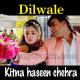 Kitna Haseen Chehra - Karaoke Mp3 - Dilwale - 1994 - Kumar Sanu