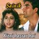 Kitni Hasrat Hai Hame Tumse - Karaoke Mp3 - Sainik - 1993 - Kumar Sanu