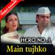 Main Tujhko Bhaga Laya - Mp3 + VIDEO Karaoke - Hero No.1- 1997 - Kumar Sanu