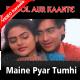 Maine Pyar Tumhi Se Kiya Hai - Mp3 + VIDEO Karaoke - Phool Aur Kaante - 1991 - Kumar Sanu