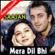 Mera Dil Bhi Kitna Pagal Hai - Mp3 + VIDEO Karaoke - Kumar Sanu - Sajan - 1991