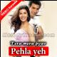 Pehla Yeh Pehla Pyar - Mp3 + VIDEO Karaoke - Kumar Sanu - Tera Mera Pyar - 2004