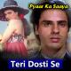 Teri Dosti Se - Karaoke Mp3 - Pyaar Ka Saya - 1991 - Kumar Sanu