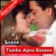 Tumhe Apna Banane Ki Kasam - Mp3 + VIDEO Karaoke - Sadak - 1991 - Kumar Sanu