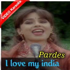 I love my India - Mp3 + VIDEO Karaoke - Hariharan