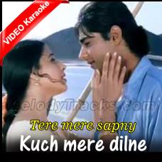 Kuch Mere Dilne Kaha - Mp3 + VIDEO Karaoke - Hariharan - Tere Mere Sapne