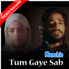 Tum Gaye Sab Gaya - Mp3 + VIDEO Karaoke - Hariharan