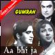 Aa bhi ja - Mp3 + VIDEO Karaoke - Mahendra Kapoor - Gumrah 1963