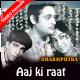 Aaj ki raat - Mp3 + VIDEO Karaoke - Mahendra Kapoor - Dharmputra 1961