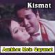 Aankhon mein qayamat ke kajal - Karaoke Mp3 - Mahendra - Kismat 1968