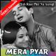 Mera pyar wo hai - Mp3 + VIDEO Karaoke - Mahendra Kapoor - Ye raat phir na aayegi