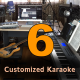 Six Customized Karaoke Tracks - High Quality