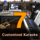 Seven Customized Karaoke Tracks - High Quality