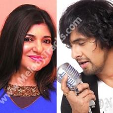 Banke Tera Jogi - Karaoke Mp3 - Phir Bhi Dil Hai Hindustani - 2000 - Sonu Nigam - Alka