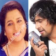 Chhoti chhoti ratein - Karaoke Mp3 - Tum Bin ( 2001) - Sonu Nigam - Anuradha