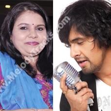 Chak de chakde sare gham - Karaoke Mp3 - Hum Tum (2004) - Sonu Nigam - Sadhna