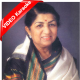 Aaj Nahi To Kal Bikhar Jayenge - Mp3 + VIDEO Karaoke - Lata Mangeshkar