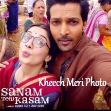 Kheech Meri Photo - Karaoke Mp3 - Neeti Mohan - Sanam Teri Kasam - 2016