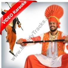 Punjabian Da Dhol Wajda - Mp3 + VIDEO Karaoke - Punjabi Bhangra