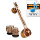 Indian Pure Classical Tabla Tala Loops - High quality 16 Bit, 44.100 kHz .WAV format