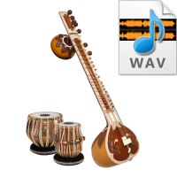 Indian Pure Classical Tabla Tala Loops - High quality 16 Bit, 44.100 kHz .WAV format
