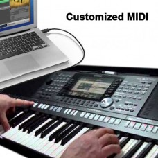 Customized MIDI Song - Any Song