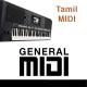 Ooru Sanam - Mella Thirandhathu Kadhavu - Tamil MIDI