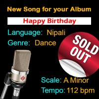 SOLD-OUT - Happy Birthday - Nipali - New Ready Made Song