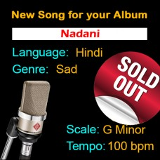 SOLD-OUT - Nadani - New Ready Made Song