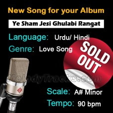 SOLD-OUT - Ye Sham jesi Gulabi Rangat - New Ready Made Song available to purchase
