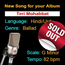 SOLD-OUT - Teri Mohabbat - New Ready Made Song