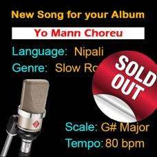 SOLD-OUT - Yo Mann Choreu - Nipali - New Ready Made Song