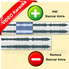 Add or Delete Antra - Stanza - VIDEO Lyrics Karaoke