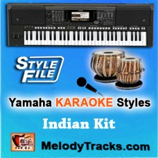 Yamaha Karaoke Styles - Kishore / Talat Hits 1 - Keyboard Beats - Rhythms - Indian Kit - SFF1 - SFF2